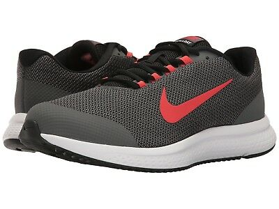 Nike Run All Day Men's Sneakers Colors: Black/Red/Dark Grey Size:9.5 Med