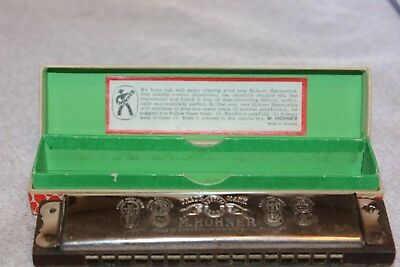 Vintage Echo Harmonica by M. Hohner made in Germany with Box