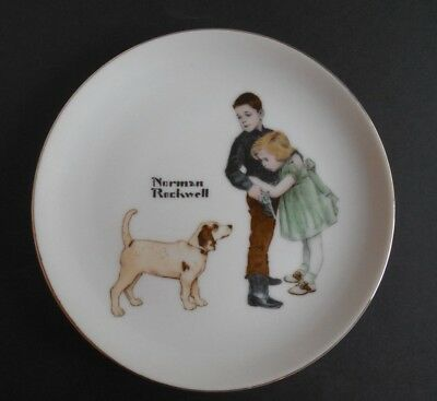 Norman Rockwell Plate Big Brother Collectors Edition Limited Series