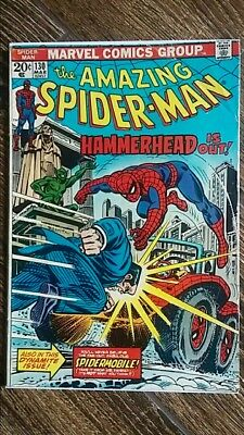 The Amazing Spiderman #130 (1974)  First App. of Spidermobile!  PRICED TO SELL!