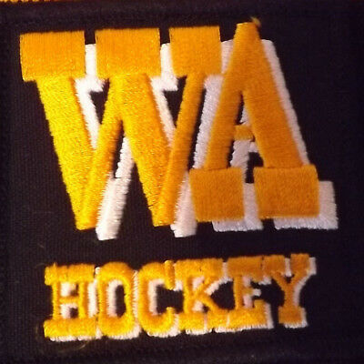 Hockey Wa Official Scarf Great Condition  Adult Size With Tag