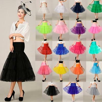 Women Short Wedding Crinoline Skirt TUTU Plus Size Petticoat Bridal Underskirt