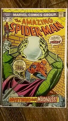 The Amazing Spider-man #142 (1975) App of Gwen Stacey after death PRICED TO SELL