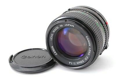Canon New FD NFD 50mm f/1.4 MF Lens From Japan Excellent++