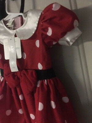 Disney Minnie Mouse Infant Holiday Dress New With Tags Size 6 Month