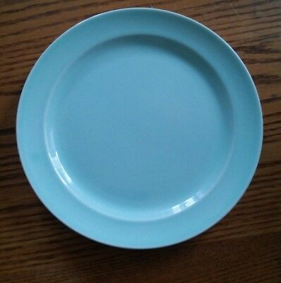015 Vintage Lu-Ray Pastels USA Made 9 Inch Plate Light Blue