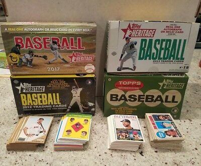 2011 2012 2013 2017 Topps heritage complete your set pick choose lot of 20