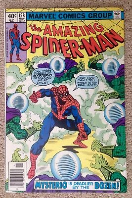 The Amazing Spider-man #198 (1979)  Mysterio!  Very Nice Copy!  PRICED TO SELL!