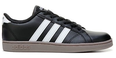 ADIDAS Baseline K GS Black White Gum Big Kids Youth Sneakers B43874 Sz4Y- 2418d66e3