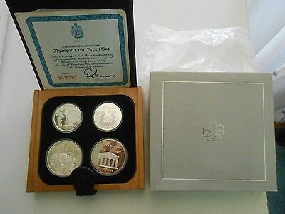 Canada,Montreal 1976 olympic coin proof set Series II w box and certificate