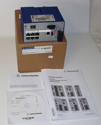 Hirschmann RS-20 Ethernet Rail Hutschiene Switch RS20-0800M2T1SDAEHH02.0.03