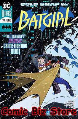 Batgirl #19 (2018) 1St Printing Dc Universe Bagged & Boarded