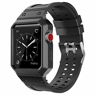 Watch Band 42mm For Apple with Case iWatch Sport Strap Series 3 2 1 Edition