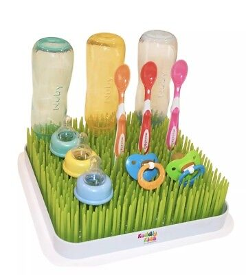 Kuddly Kids Large Lawn Drying Rack for Baby Bottles, Nipples, Dish, Spoons - NEW