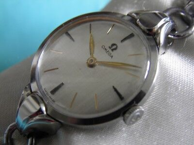 SUBLIME OMEGA SOLID STEEL 1947 REASSEMBLY MANUAL Cal 243 SUPERB CONDITION