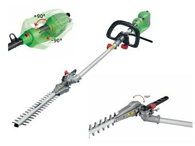 Electric Long Reach Hedge Trimmer - 900W - cutting height up to approx. 3.5m NEW