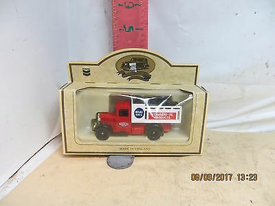Lledo Die Cast Chevron Delivery Truck - Atlas Tires , 1934 Model A , Made In Uk