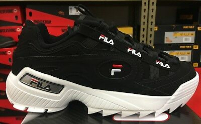 FILA D FORMATION Black Red White 1Cm00490 14 Mens Us Sizes
