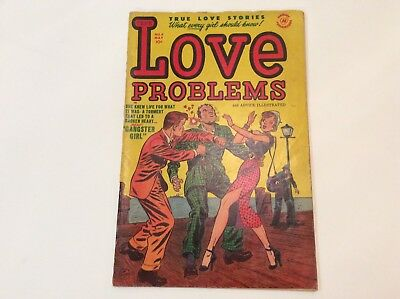 Love Problems- Vol.1 No.9 May 1951 By Harvey Publications- Signed Lee Elias
