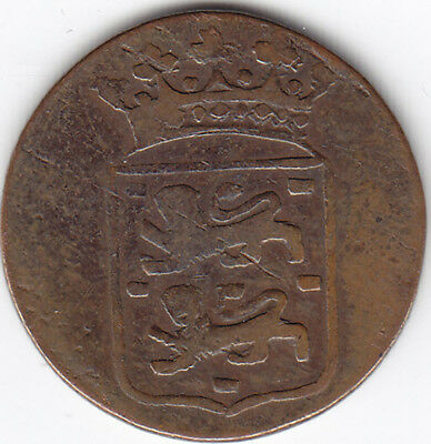 1792 Dutch East India Copper Coin / Token