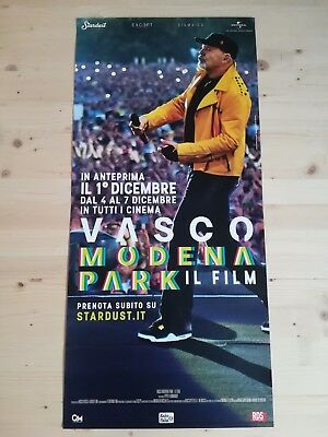 VASCO ROSSI MODENA PARK IL FILM Locandina Evento Cinema Poster Officiale 33x70