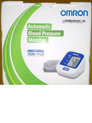Omron Uppar Arm BP Monitor HEM-7124 Upper Automatic Free Shipping