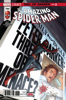 AMAZING SPIDER-MAN ISSUE 789 - FIRST 1st PRINT LEGACY - MARVEL COMICS