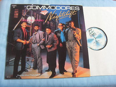 "VINYL MAXI SINGLE 12"" - COMMODORES (LIONEL RICHIE) - NIGHTSHIFT - I Keep Running"