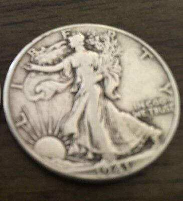 Silver Half Dollar 90% Walking Liberty 50 Cent Coin 1941D CIRCULATED WWII .900