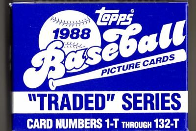 1988 Topps Traded Complete Factory Baseball Card Set Alomar Rookie Free Shipping