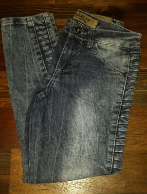 NWOT's 12 K New York  Girls Skinny/Straight Bottom Jeans size 7