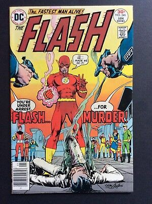FLASH #246 FLASH KILLS ABRA KADBRA?NEAL ADAMS cvr MID-HIGHER GRADE!!!!!