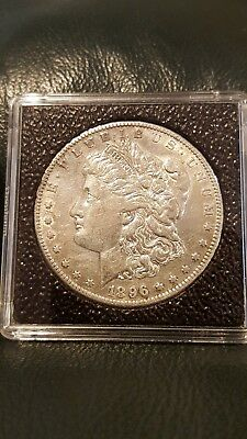 1896-S Morgan Silver Dollar $1 - Excellent Condition - Nice Luster - Rare Date!