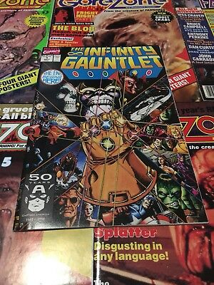 Infinity Gauntlet #1-4 Marvel Thanos The Avengers Guardians of the Galaxy