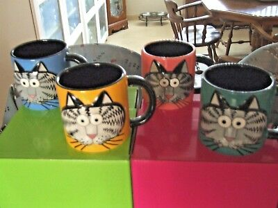 Kliban Cat Big Face Cat Mug