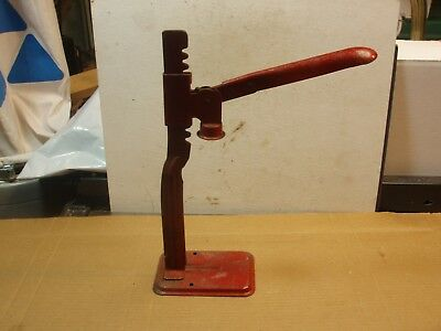 Vintage Bottle Capper Climax Eveready Co Manual Lever Action