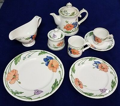 Villeroy & Boch Amapola / Large Assortment: dinner & salad plates and much more
