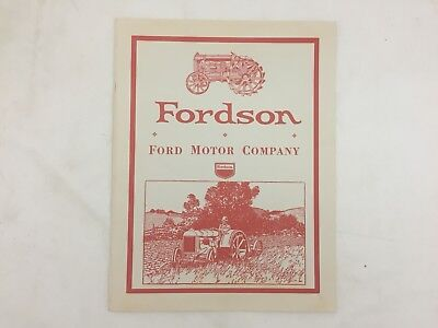 Fordson an Advertising History 1919-1937 - Ford Motor Company - Alan C King