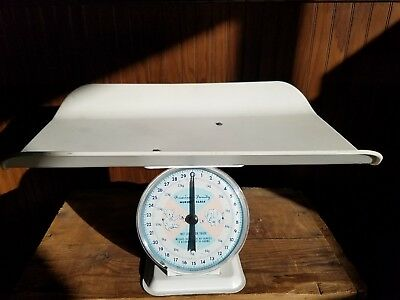 Vintage AMERICAN FAMILY NURSERY SCALE for BABIES up to 30 lbs.