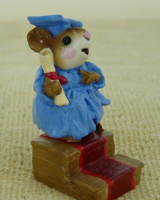 WEE FOREST FOLK M-161 COMMENCEMENT DAY ROYAL BLUE (retired)  circa 1996