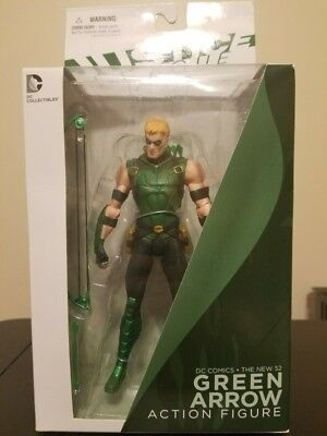 DC Direct The New 52 Justice League - GREEN ARROW Action Figure DC Collectibles