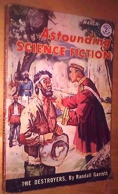 Astounding Science Fiction - March 1960 -  British Edition - Paperback