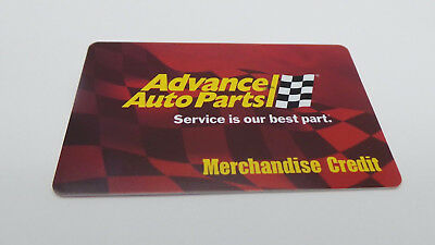 $95 Advance Auto Parts Gift Card Advance Gift Card Free shipping