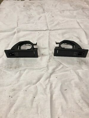 92 93 94 95 96 Ford F150 F250 Super Cab Seat Flip-Out Cup Holders Set