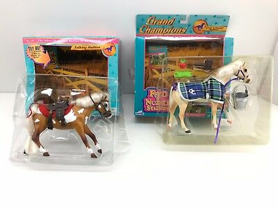GRAND CHAMPIONS Feed 'n Nuzzle & Talking Stallion by Empire - SEALED w/ Box LOT