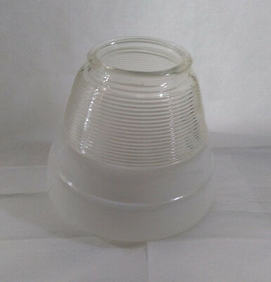 Vintage Kitchen Ceiling Light Shade Globe Frosted & Clear Glass Replacement