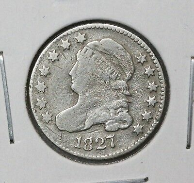 1827 10C Capped Bust Dime VG/FINE BETTER DATE MANY BUST DIMES FOR SALE!