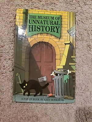 The Museum of Unnatural History 1993 Halloween POP UP Book HARDCOVER