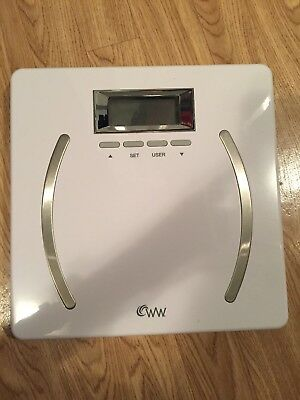 Weight Watchers WW28 Scale Body Analysis Scale By Conair