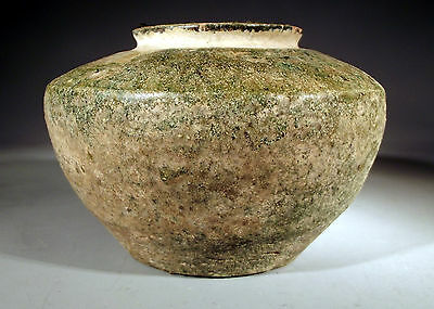 Chinese Green Glazed Tomb Pottery Jar,Eastern Han Dynasty ca. Early 3rd Century